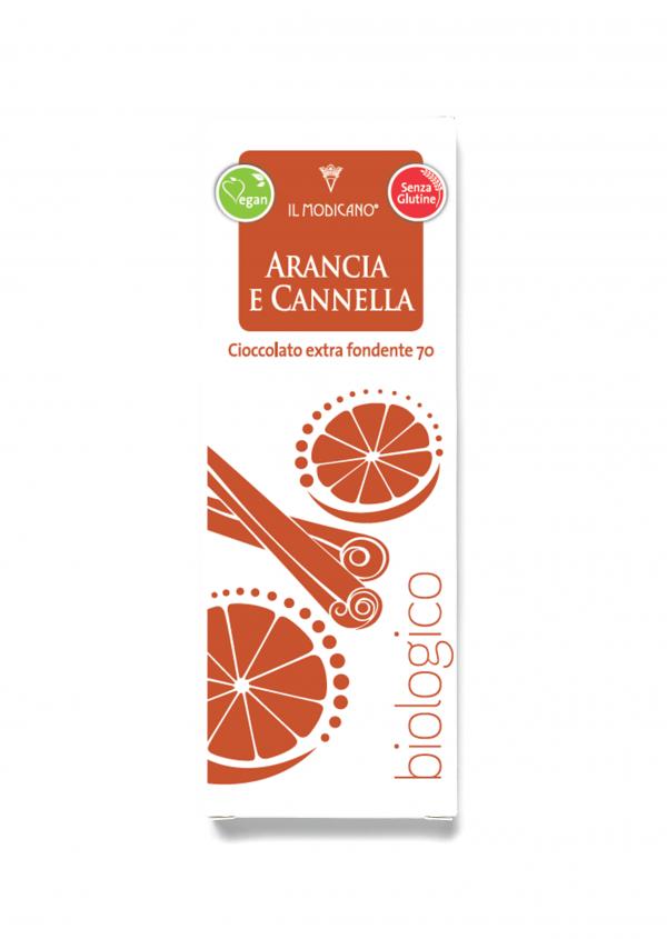 cioccolato extra fondente arancia e cannnella