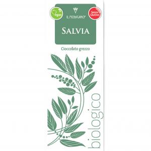 Cioccolato grezzo fondente Salvia