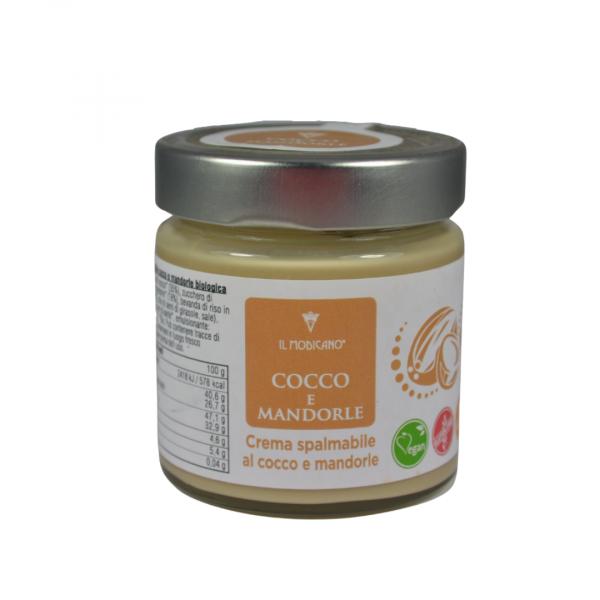 crema spalmabile cocco e mandorle