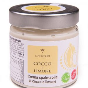 crema spalmabile cocco e limone